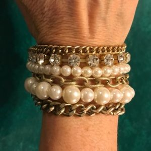 Jewelry - Multi strand bracelet with magnetic closure